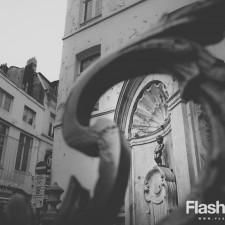 eurotrip wakacje w europie stolice Bruksela Starówka Sikający Chłopec
