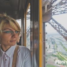 eurotrip wakacje w europie stolice Paryż winda Wieży Eiffla Wieża Eiffla