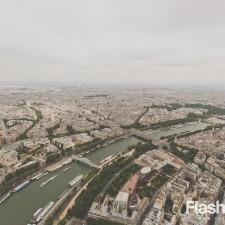 eurotrip wakacje w europie stolice Paryż widok z wiezy Eiffla