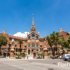 eurotrip wakacje w europie stolice Barcelona miasto szpital miejski Gaudiego