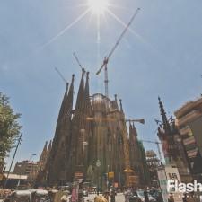 eurotrip wakacje w europie stolice Barcelona Sagrada Familia