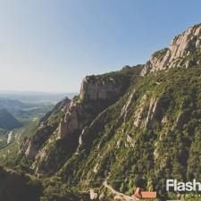 eurotrip wakacje w europie stolice Barcelona Montserrat