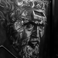 eurotrip wakacje w europie stolice Barcelona muzeum Salvadora Dali obraz Salvador