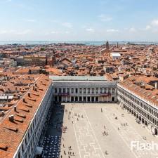 eurotrip wakacje w europie stolice Wenecja widok z dzwonnicy