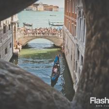 eurotrip wakacje w europie stolice Wenecja Most westchnień widok z pałacu westchnień