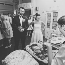 młoda para wesele udziec