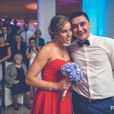 oczeipny tańce szalone wesele nowa młoda para