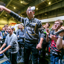 Poznań Game Arena fotografia reportażowa fotografia targowa fotograf Poznań Międzynardowe Targi Poznańskie